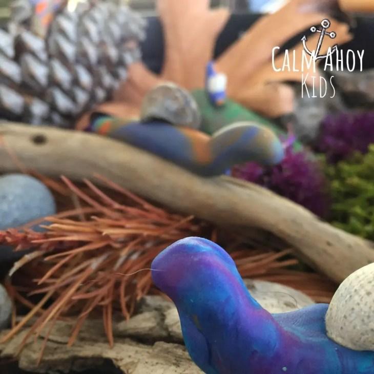 Snail sanctuary Autumn craft