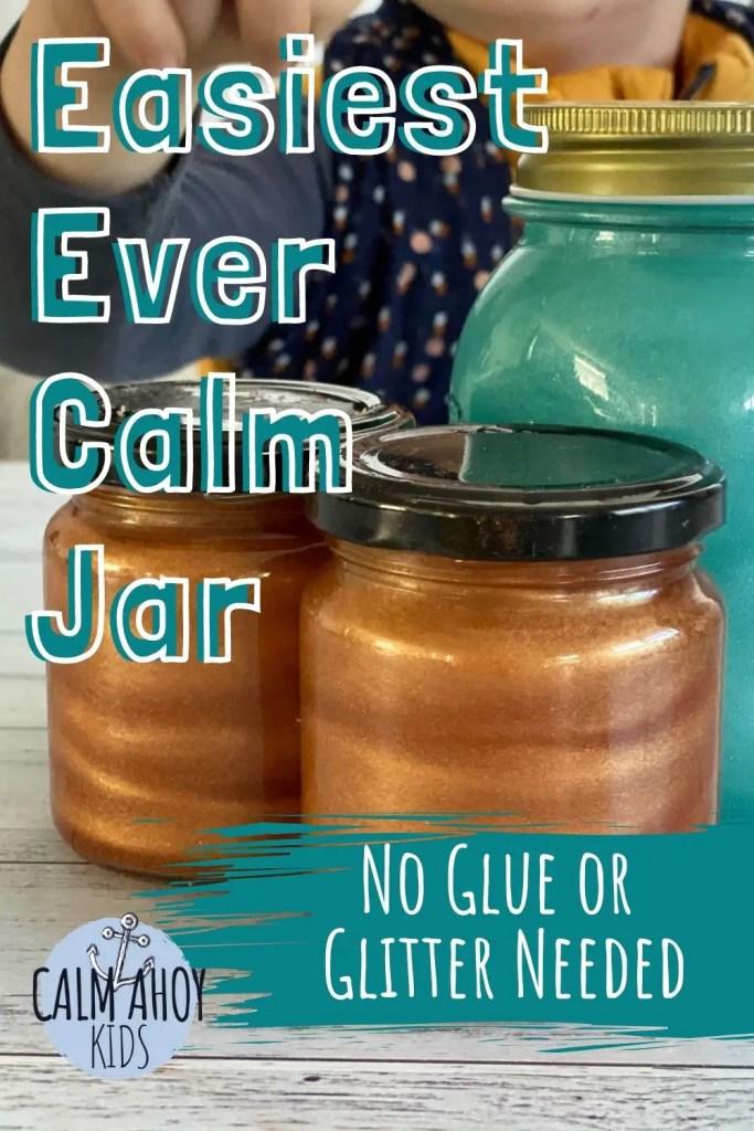 Easy no glitter calm Jar