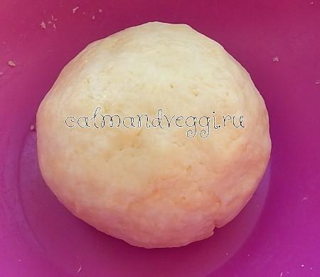 Сырное тесто без яиц. Рецепт с фото