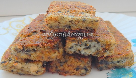 вегетарианские рыбные палочки, рецепт с фото пошаговый