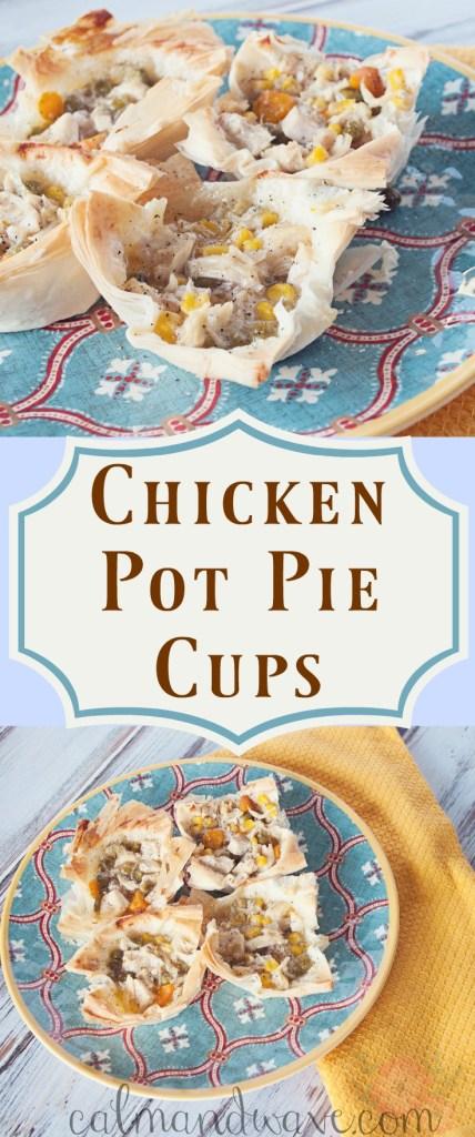 Chicken pot pie cups. Best chicken pot pie recipe.
