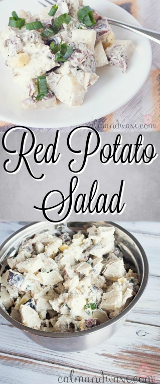 Red Potato Salad. Best recipe.