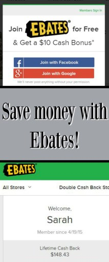 Save Money with Ebates! Review of Ebates.