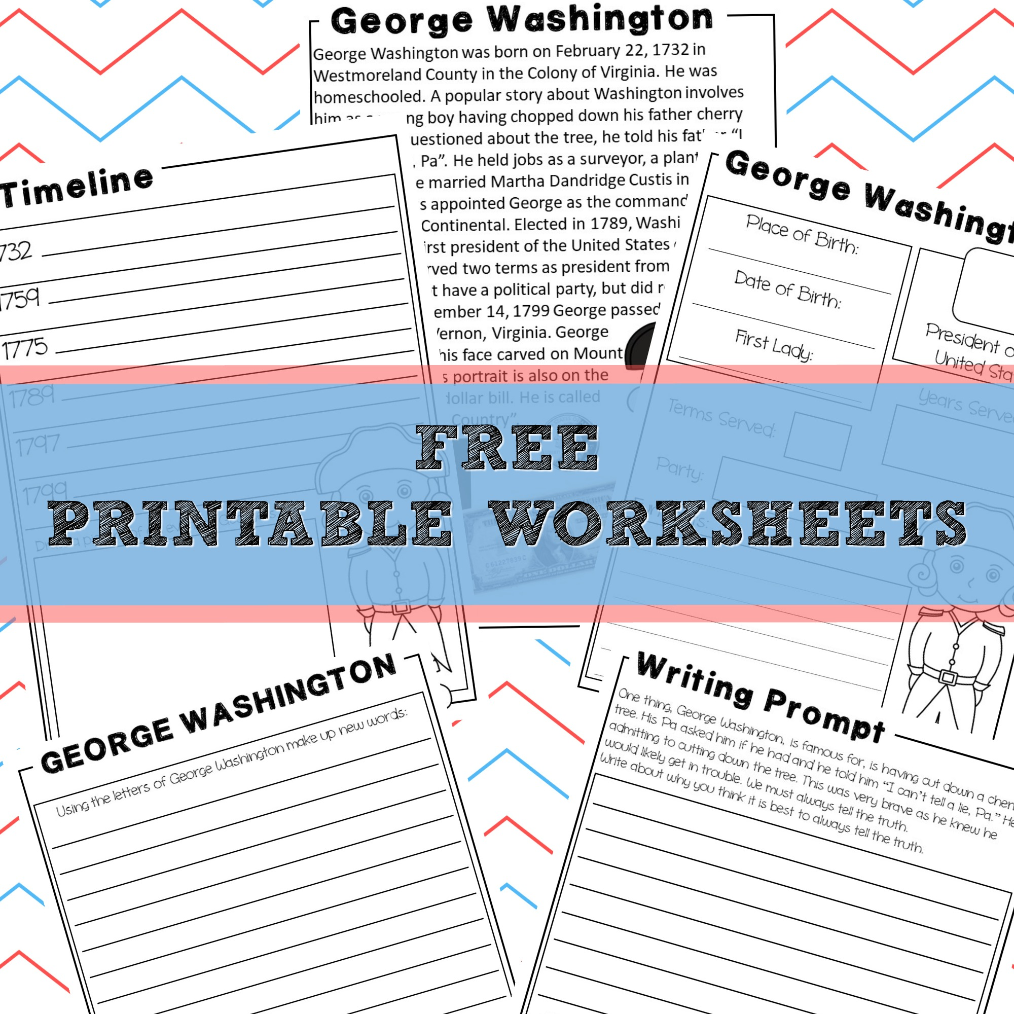 George Washington | Homeschool Unit Study American Presidents ...