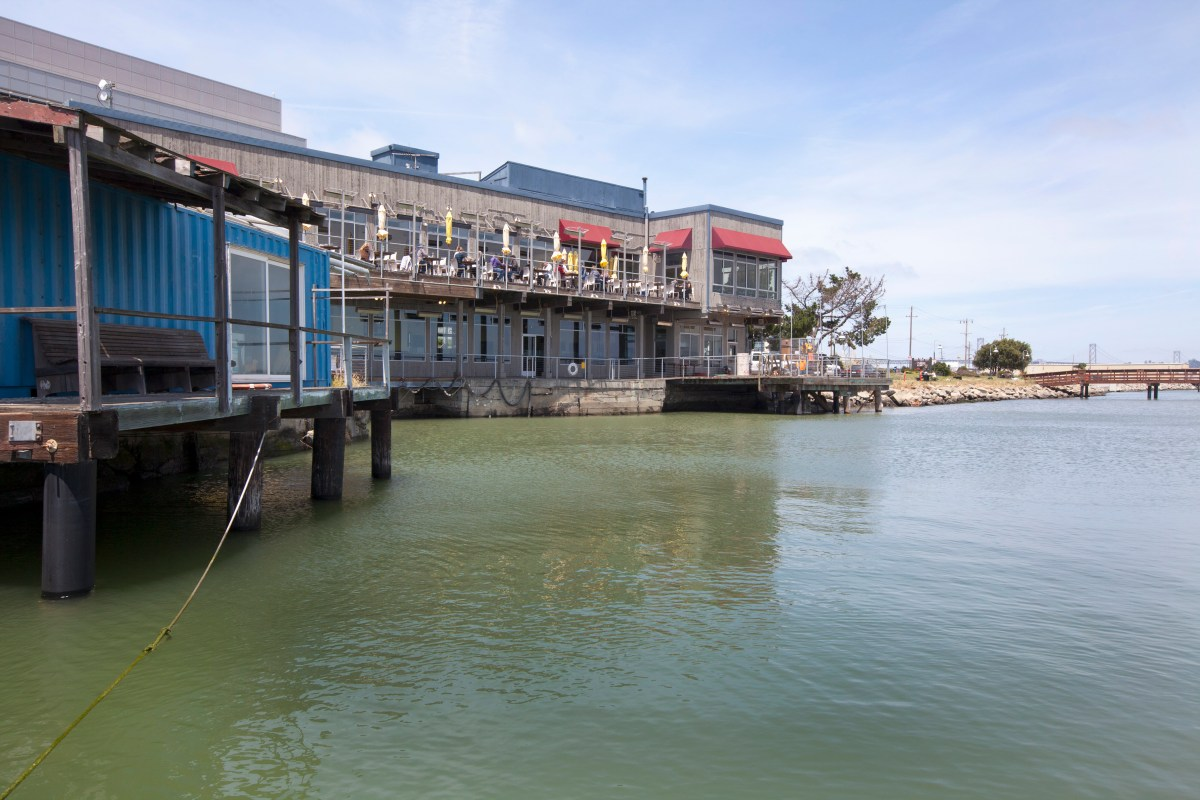 Water level will rise in the Mission Bay area of San Francisco and will affect the popular lunch spot, Mission Rock Resort