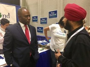 California Assemblyman and schools superintendent candidate Tony Thurmond (D-Richmond) typically votes with the education establishment. Photo by Laurel Rosenhall for CALmatters
