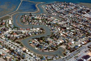 Aerial view of Corte Madera.