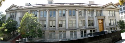 LeConte Hall, University of California, Berkeley. Photo via Wikimedia