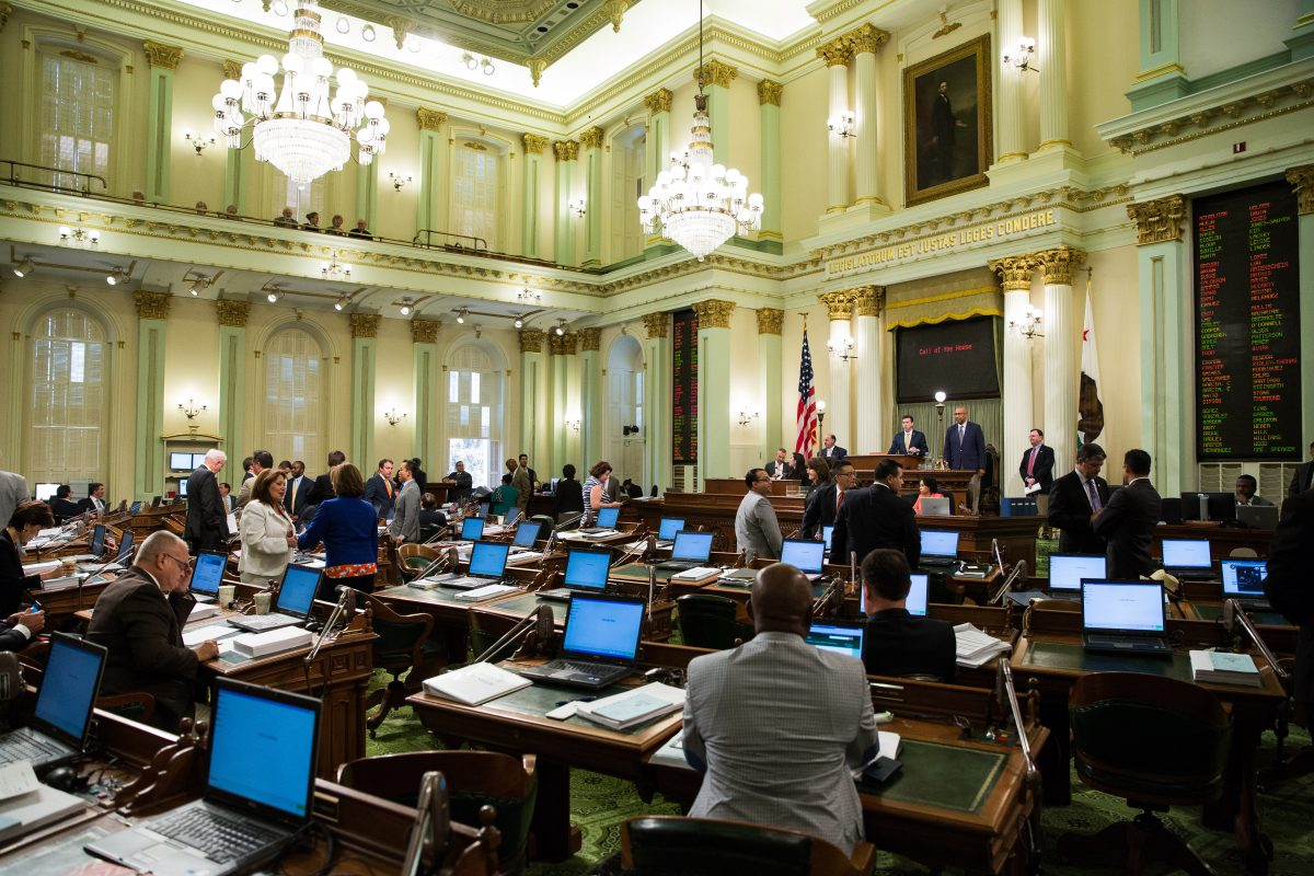 Bills must be published at least 72 hours before lawmakers are permitted to act on them. Photo by Max Whittaker for CALmatters