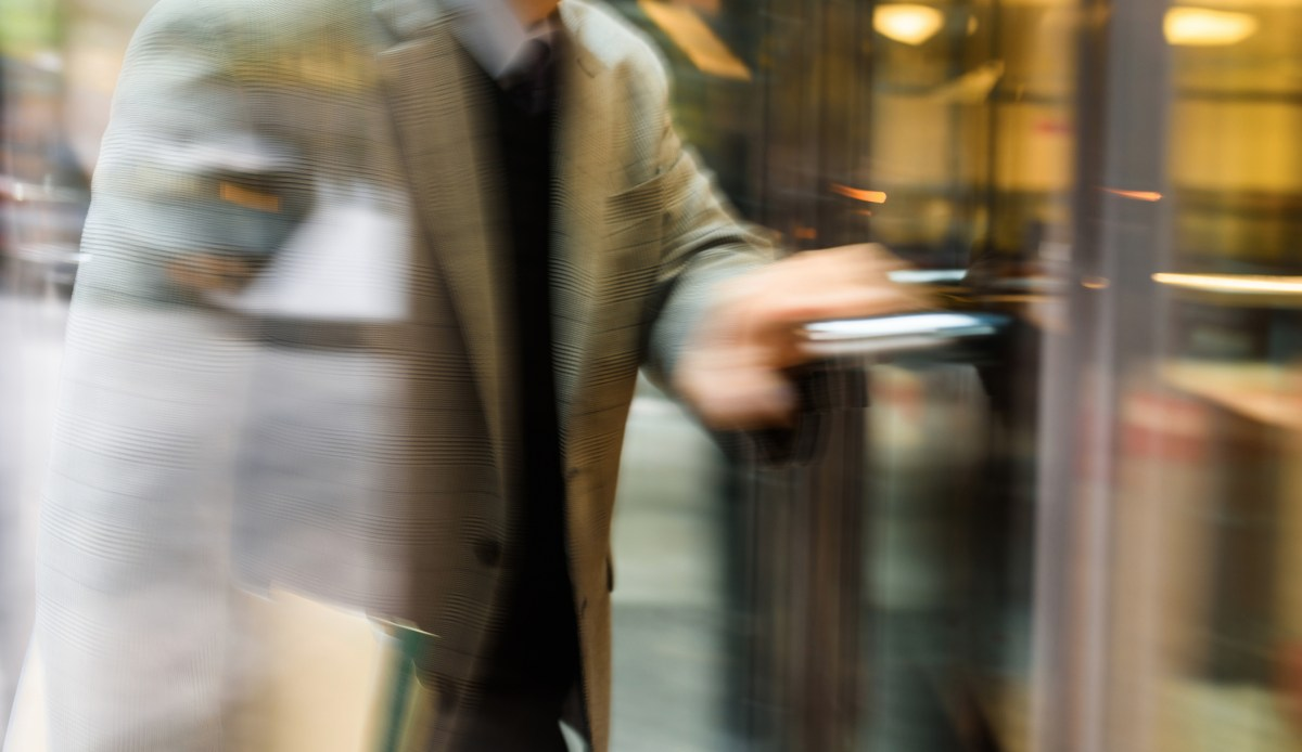 Revolving door, via Thinkstock