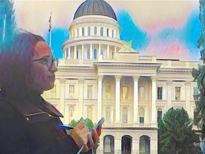 CALmatters' Capitol columnist Laurel Rosenhall