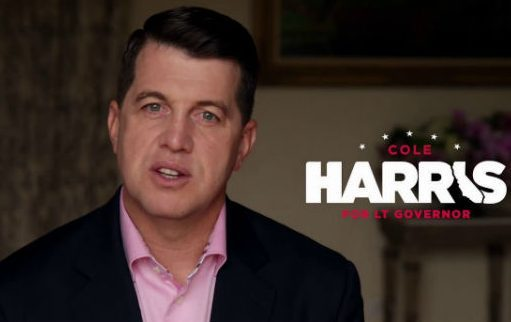 Cole Harris, unsuccessful Republican candidate for lieutenant governor
