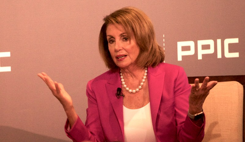 Democratic House Minority Leader Nancy Pelosi in San Francisco. Photo by Ben Christopher for CALmatters