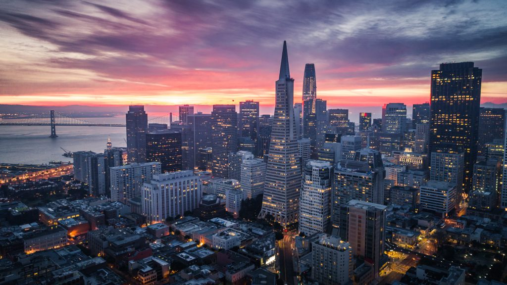 The skyline of San Francisco, where Gov. Jerry Brown will host a climate summit, is shown. | Photo by heyengel via iStock