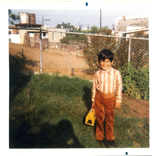 A boyhood photo of Kevin de León, courtesy of him.