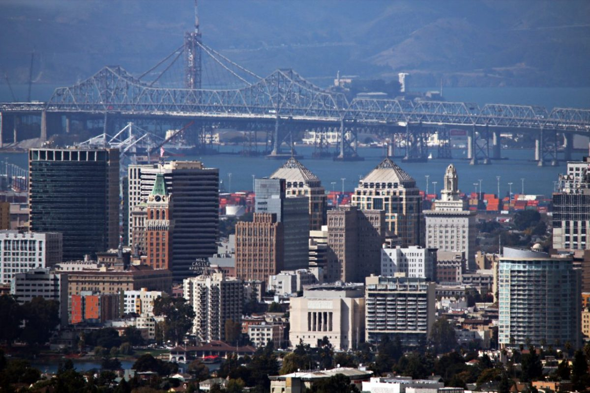 The skyline of Oakland. Photo by Basil D. Soufi via Creative Commons