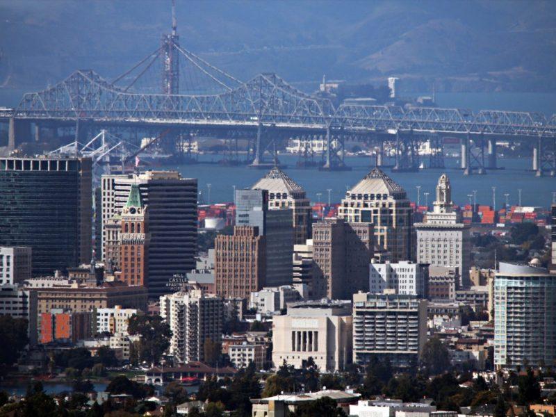 The skyline of Oakland. Photo by Basil D. Soufi via Creative Commons