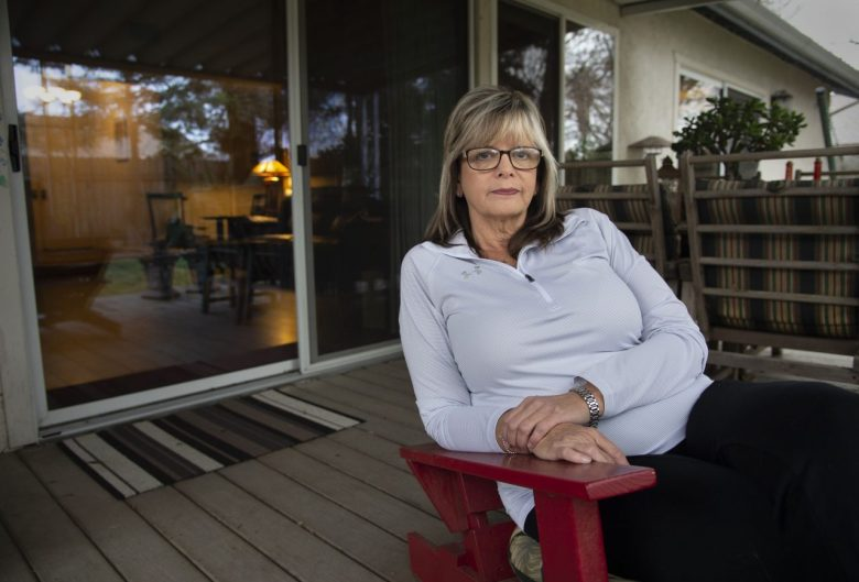 Joanna Jurgens reflects on her mentally ill son Jeffrey, who is serving time at Atascadero State Hospital after stealing a car. Photo by Randy Pench for CALmatters