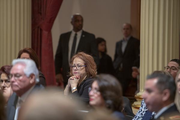 State Sen. Maria Elena Durazo, Democrat from Los Angeles.