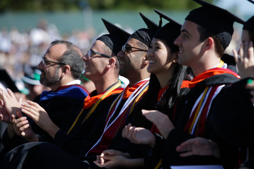 anta Clara University 2018 commencement in Stevens Stadium on Saturday, June 16, 2018 in Santa Clara, Calif. (Maritza Cruz/ Bay Area News Group)