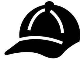 illustration of a baseball cap