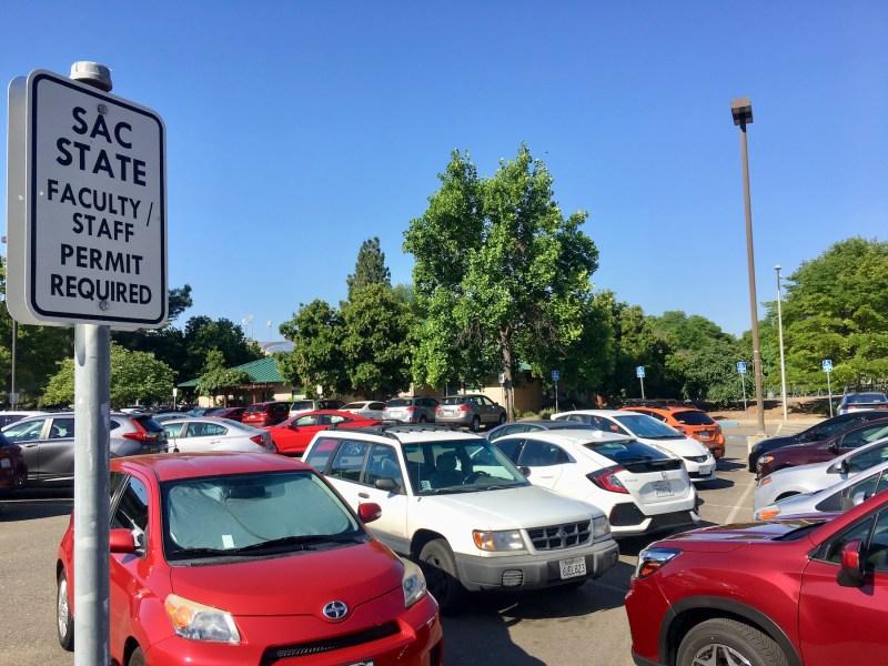student parking fees CSU