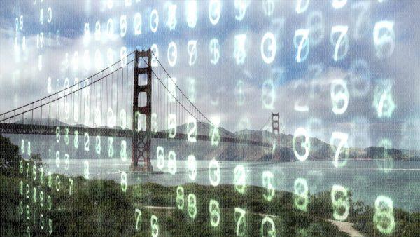a photo illustration of San Francisco.