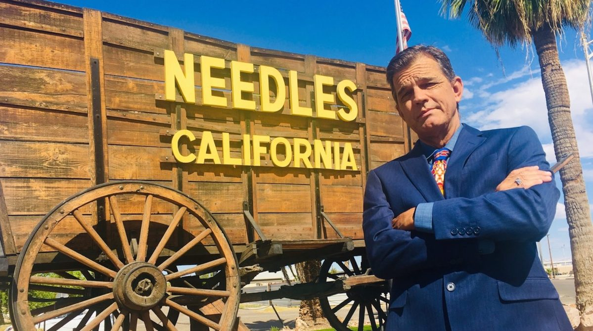 California gun sanctuary Needles
