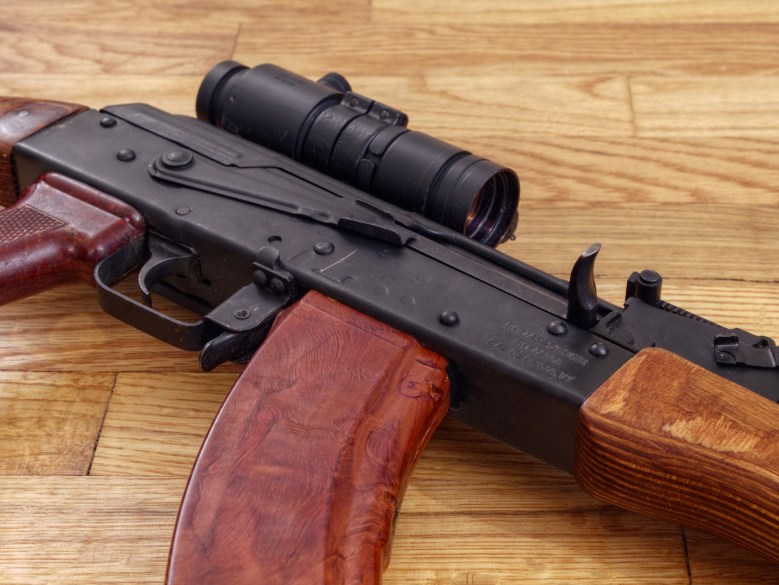 Gilroy shooting assault rifle WASR 10