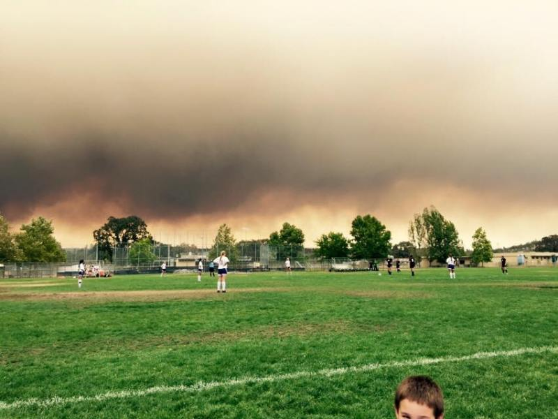 School closures Valley Fire