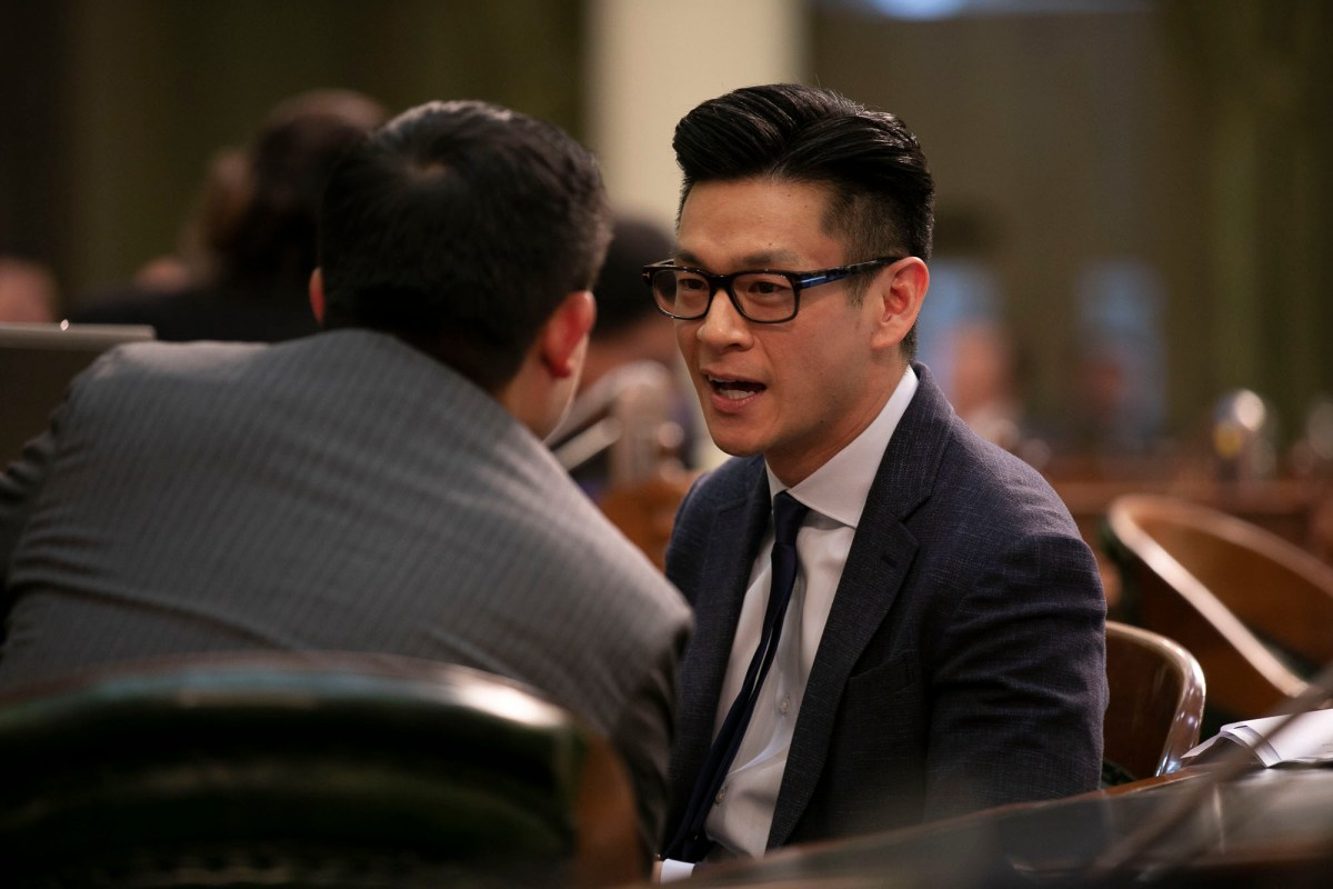 Assemblyman Evan Low, Democrat of Campbell. Photo by Anne Wernikoff for CalMatters