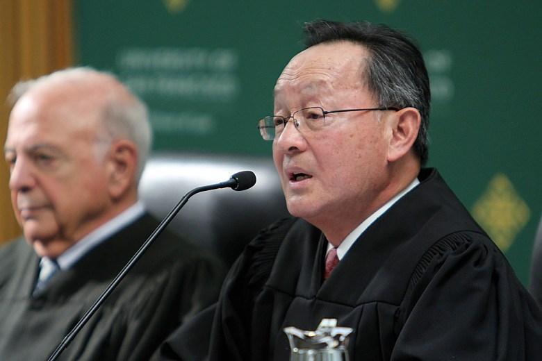 California Supreme Court Justice Ming Chin