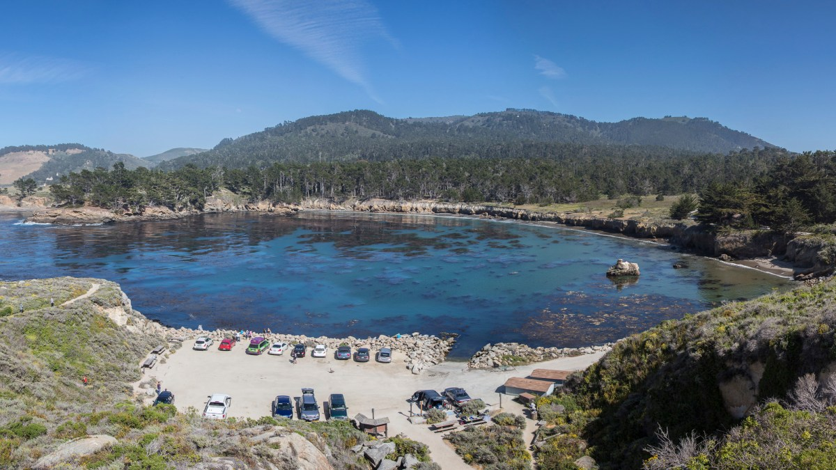 This 2013 image depicts Whalers Cove on Point Lobos State Reserve. On Monday, Gov. Gavin Newsom announced that parking lots at many state parks and beaches would close down in an effort to limit the spread of COVID-19. Photo by David Iliff via Creative Commons