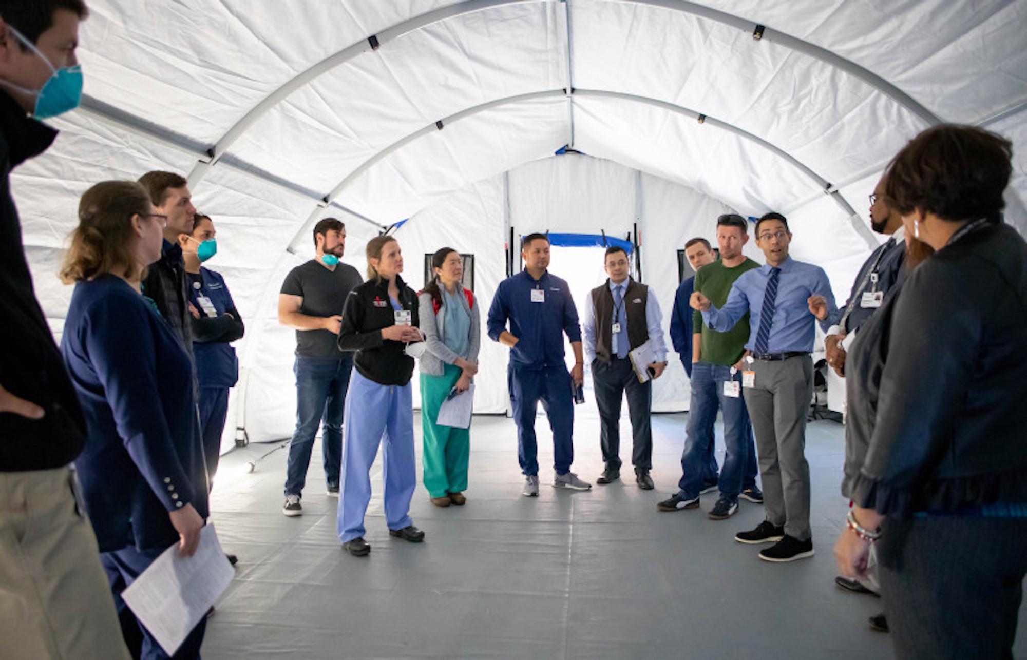 Listen: California hospitals prep for coronavirus — and life afterward