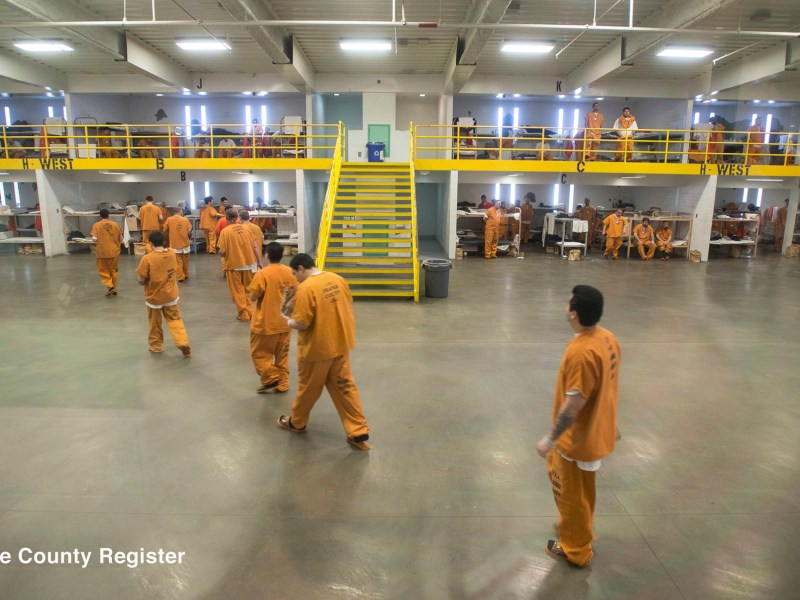 Southern California jails are releasing some low-level inmates early, checking new arrivals for fever and taking other precautions to prevent COVID-19 from taking hold behind bars. (File photo by Jeff Gritchen,Orange County Register/SCNG)