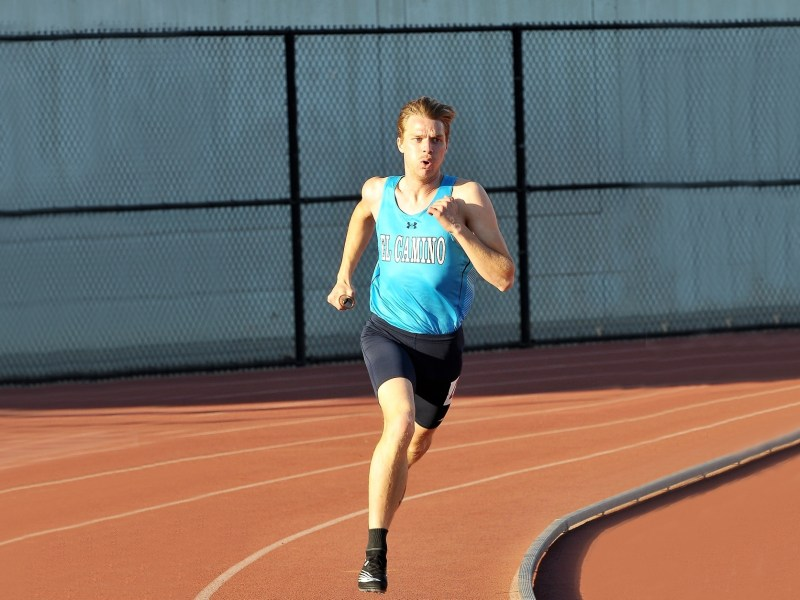 Parker Tenove moved from Kansas to California to become part of the track and field program at El Camino College. When the coronavirus canceled the spring season, his plans fell apart. Photo courtesy of Parker Tenove