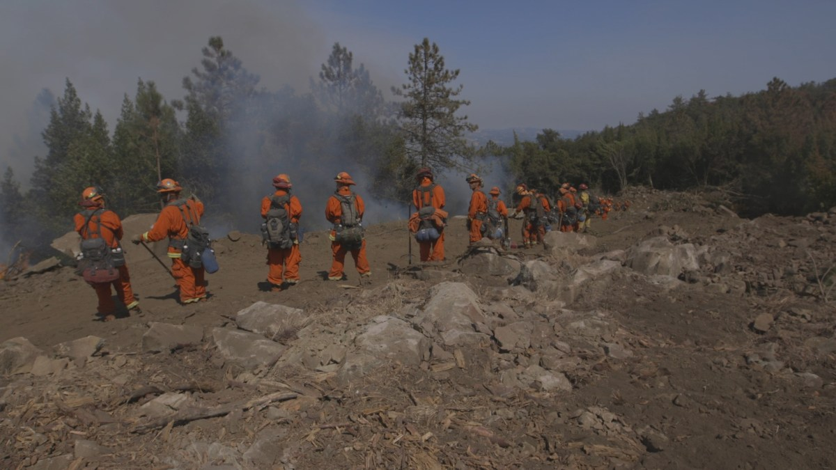 The Pine Grove fire camp is the last juvenile fire camp in California. Image courtesy of Fireboys documentary
