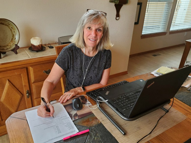 Diane Belger, an accounting and finance lecturer at San Jose State University, has been teaching her courses online since the spring. Photo courtesy of Diane Belger
