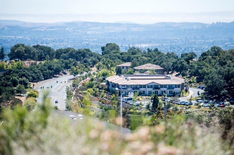 The Oakmont of Varenna nursing home and assisted living facility in Santa Rosa on July 29, 2020. Photo by Beth LaBerge, KQED