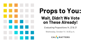 Props to You Event: Wait, Didn't We Vote On These Already?