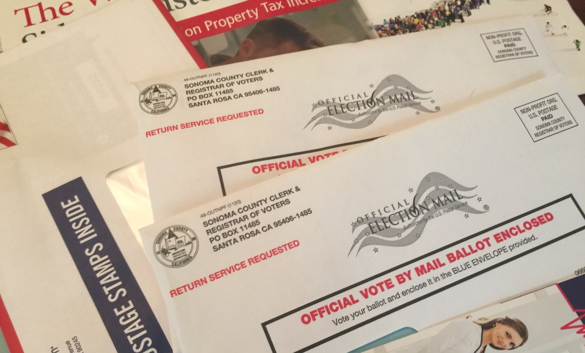 As California's mostly all-mail election gets underway, what to do if you receive a ballot that isn't for you.