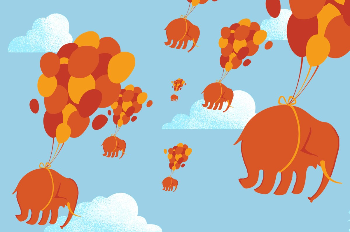 More than 33,000 California Republicans deserted the GOP after Trump supporters attacked the U.S. Capitol last month. Illustration by Anne Wernikoff, CalMatters; iStock