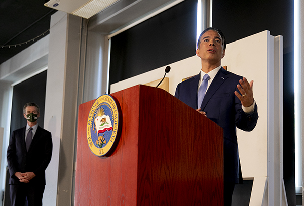 Assemblymember Rob Bonta has been confirmed as the new California Attorney General. In his confirmation hearings, Bonta vowed to take a tougher hand in policing the police. Photo by Anne Wernikoff, CalMatters