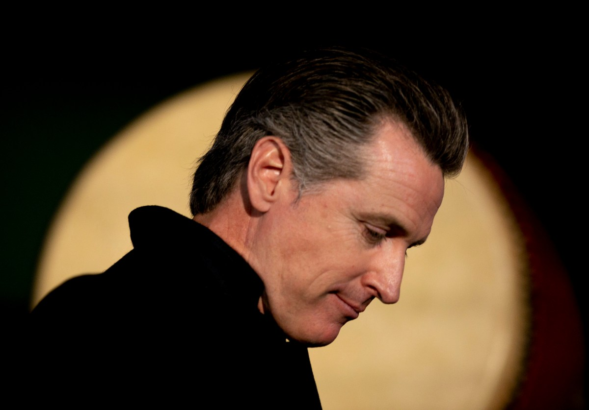 For the past year and a half, Newsom has dominated the pandemic headlines, whether receiving adulation or harsh criticism. But what has his life been like behind the scenes? Photo by Anne Wernikoff, CalMatters
