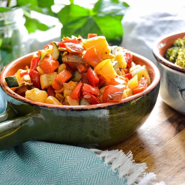 Easy Meal Prep Roasted Vegetables