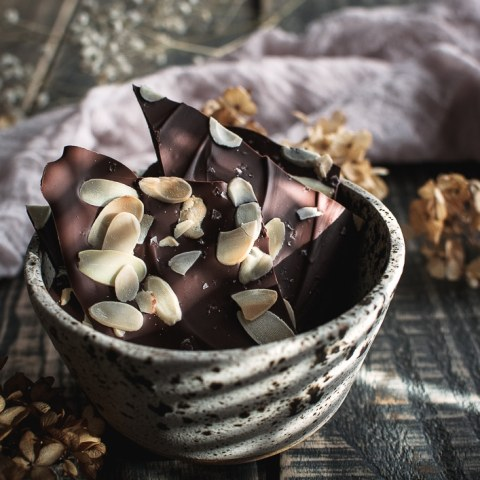 Easy 3 Ingredient Chocolate Bark