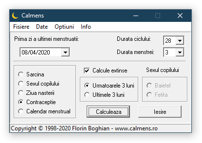 Calmens - Screenshot 2020