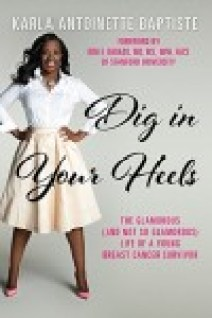 """Image shows the cover of the book """"Dig In Your Heels"""" as reviewed on CALMERme.com"""
