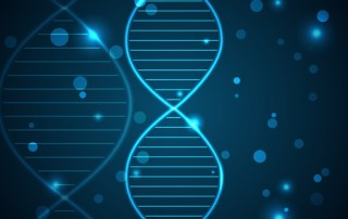 Image of DNA relating to genetic information improving health from CALMERme.com