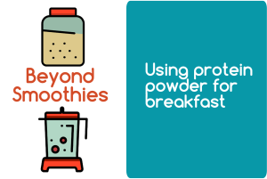 Protein powder for breakfast from CALMERme.com blogheader
